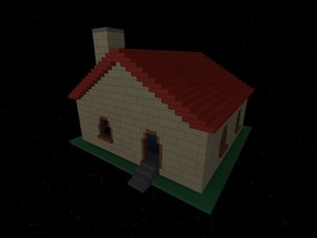 Classic Roblox - Happy Home in Robloxia *New Separated Model For Use w/ Roblox Figures*