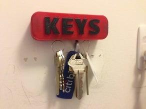 Magnetic Key Holder