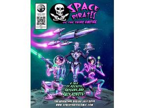 The Rapier. SpacePirates Space Ship