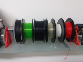 Broomstick Filament Spool Rack