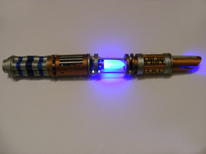 Lightsaber with internal LED's --- INSTRUCTIONS IN DESC.