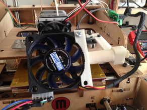 TOM PLA cooling fan