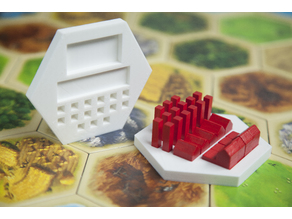 Catan Piece Dock