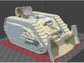 Hermetika Pattern Heavy Command Tank (30k/40k proxy)