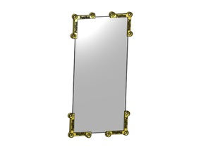 (Design) FuzNuz Stall Mirror Holder