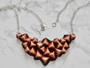 Cubic Statement Necklace