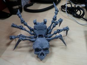 Skullspider - Fully articulated