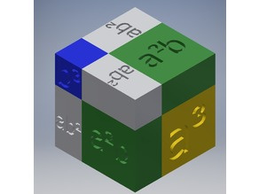 Representation of the Cube of a Binomial