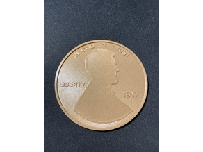 Giant US Penny