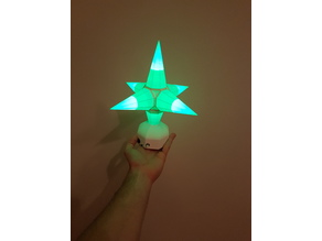 Christmas Star LED lamp