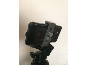 Smartphone adapter for tripod, quick release