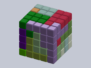 Five Cubed Puzzle