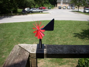 24/7 wind speed & direction indicator (anemometer) Remix