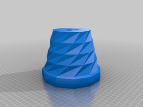 Triangulated_Flower_Pot_5mm_Thick_Wall
