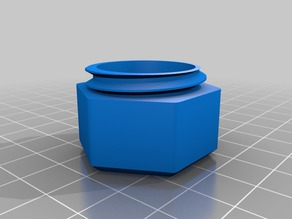 Small container with screw lid