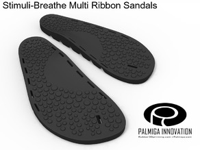 Palmiga Stimuli-Breathe Multi Ribbon Sandals