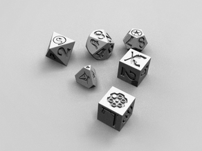 Deadlands dice set