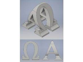 Alpha & Omega Sculpture