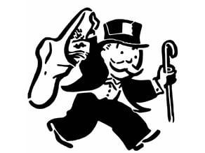 Monopoly stencil