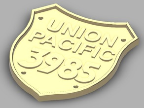 Union Pacific Train Logo