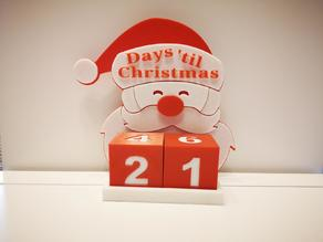 Numbers for Christmas Advent Calender