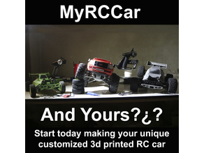 MyRCCar MTC Chassis Building Instructions: Make your Monster Truck or Crawler RC car