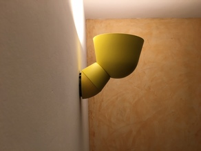 Wall pedestal lamp - Socle mural lampe IKEA PS2017