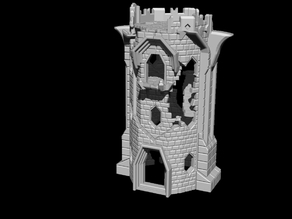 Tabletop Medieval Tower (LOTR, The Hobbit, Ravenhill Inspired)