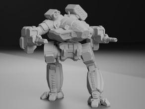 """Ebon Jaguar Prime, AKA """"Cauldron-Born"""" for Battletech"""