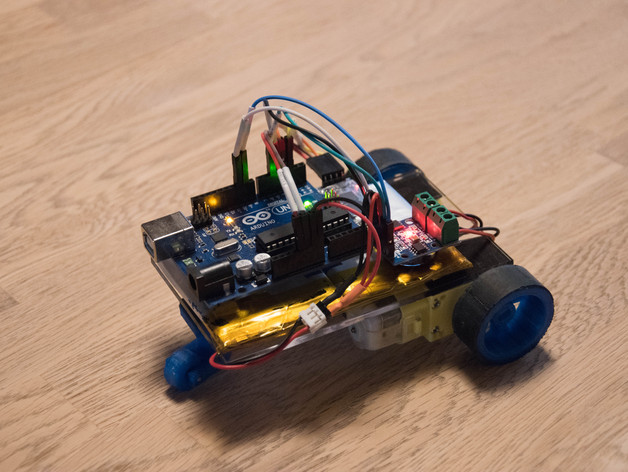Arduino Bluetooth Robot (Ec-Projects) by EcTechTime
