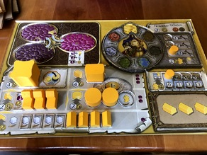 Terra Mystica Player Board Overlays