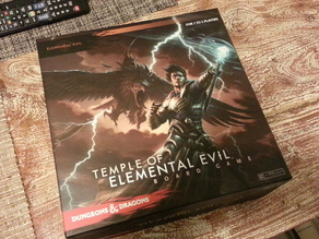 Dungeons and Dragons - Temple of The Elemental Evil - Box Organizer