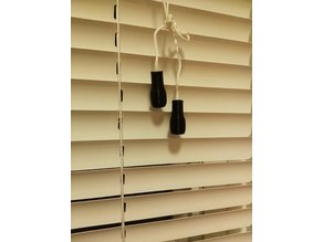 Window Blind Pull End