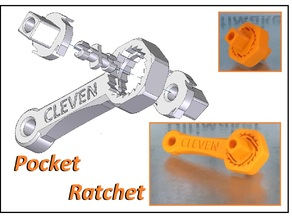 Pocket Ratchet Wrench