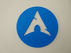 Arch Linux coaster