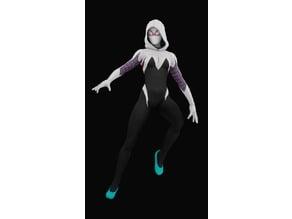 Spider Gwen Scale Model
