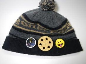 Hat Clip, Pocket Clip, Lapel Clip