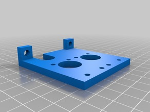 Double extruder mod Printrbot Simple Metal