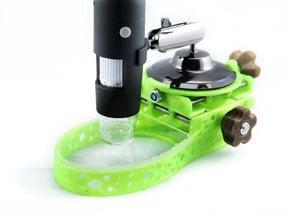 Mount for Plexgear USB microscope