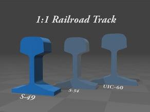 1:1 Railroad Track ( S-49 )