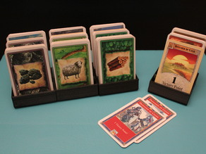 Catan Cities and Knights Card Holder