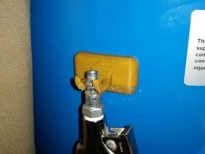 Air Fitting Hanger, Magnetic