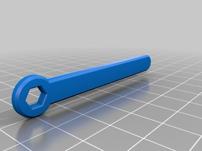 M3 Nut Wrench for 3mm bolt