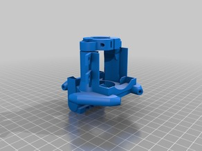 Effector for Anycubic Kossel V5 version 9 and 10