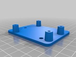 arduino uno holder on openbeam 2040