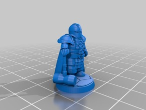 Dwarf Dwarven Cleric of Moradin D&D DnD Pathfinder