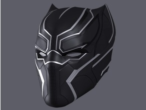 Black Panther Helmet - Civil War