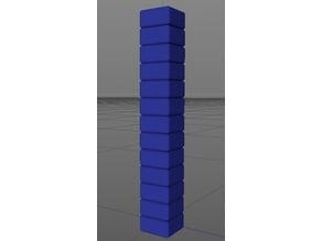 Temperature tower (240°C - 180°C)