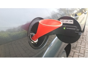 Emergency Diesel Funnel   -    (Plastic Warning - not all are safe for Fuel)