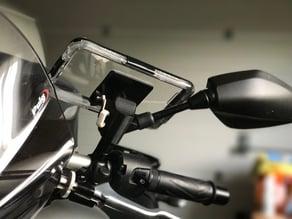 Yamaha MT 09 GoPro mirror mount (Left)